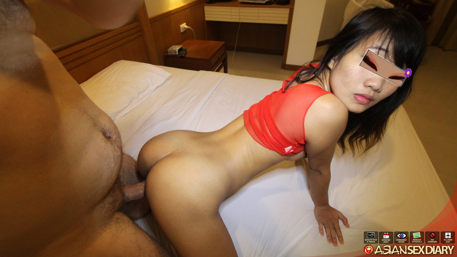 Cute latina gets cunt and bung hole pounded - 2 part 10
